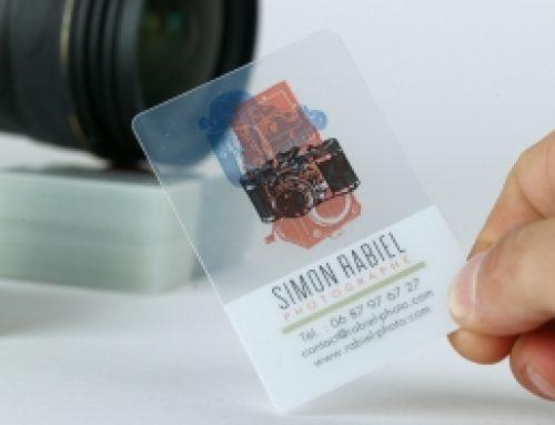 Carte transparente
