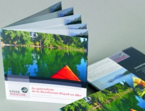 Brochure carré 21×21