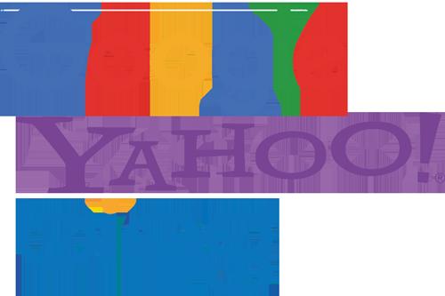 yahoo-bing-google