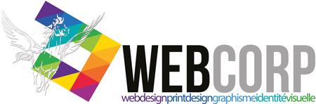 Création site internet Webcorp Logo